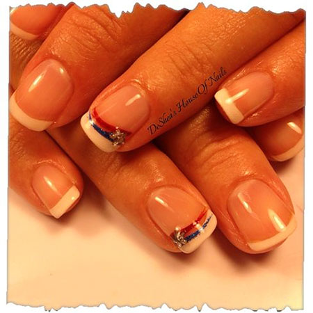 French Manicure July Gallery