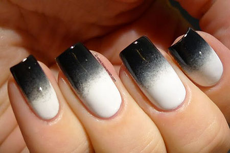 White Polish Love Black