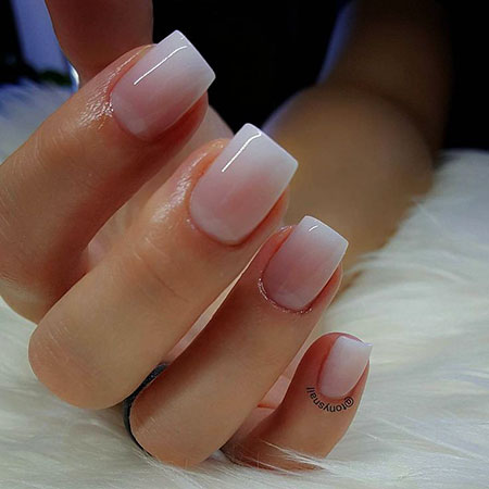 French Manicure Smink Gradient