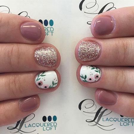 Gel Soft Thanksgiving Manicure