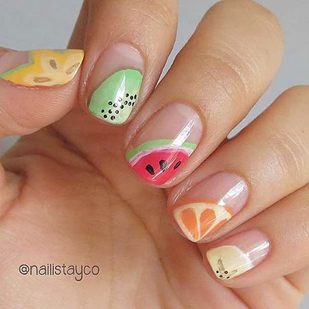 Summer Fruit Cute Bright