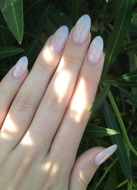 Cute Natural Nails, Natural Manicure Acrylic Shapes