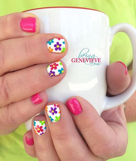 Spring Style Nail Art, Spring Manicure Fun Week