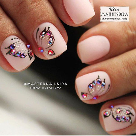 Manicure Style Butterfly