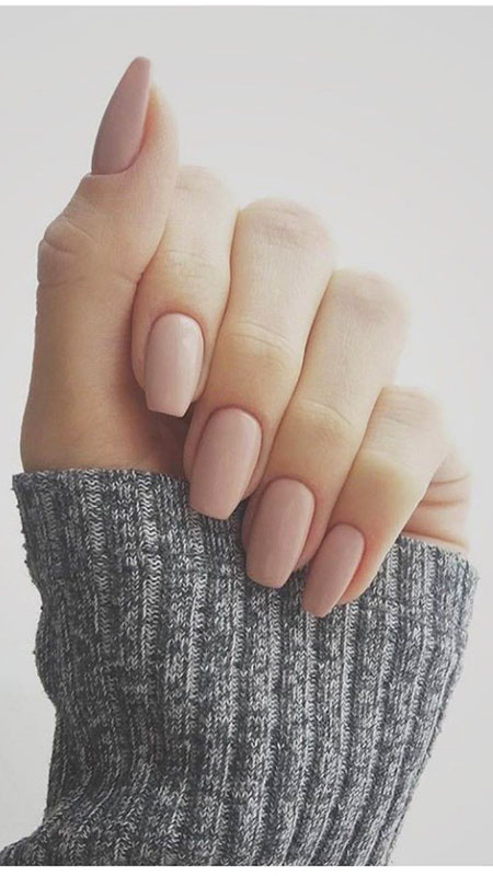 Short Nude Acrylic Ideas