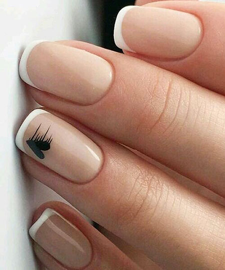 Manicure Simple Fall
