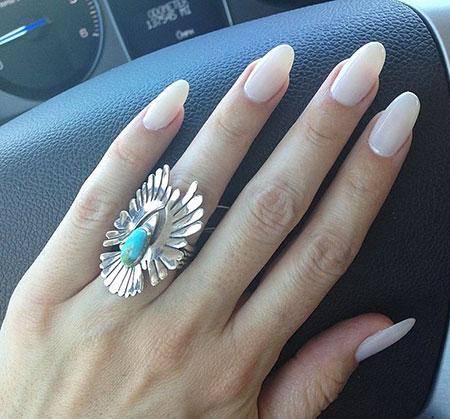 Long Manicure Love Style