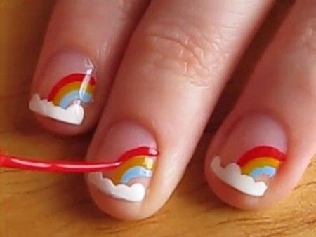 Cute Easy Short Rainbow