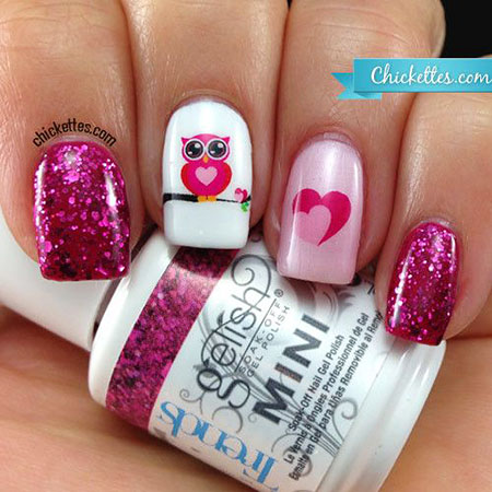 Manicure Love Decals Sticker