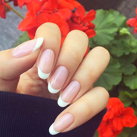 Manicure Long Natural Simple