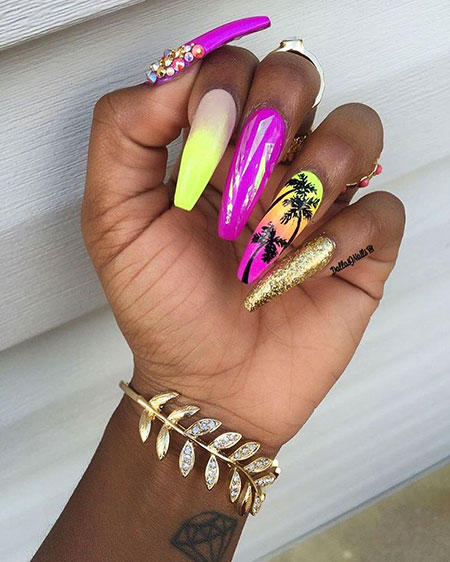 Coffin Beautiful Ongles Stiletto
