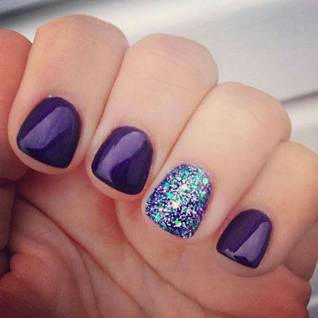 Gel Ideas Glitter Cute