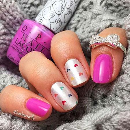 Day Pretty Valentine Manicure