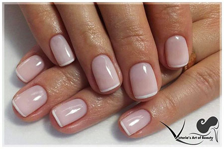 Manicure Gel French Natural