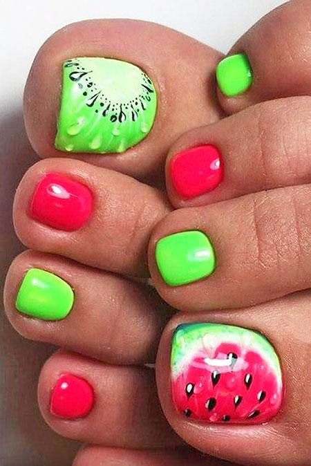 Toe Summer Classy Manicure