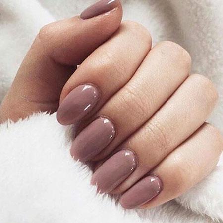 Manicure Pink Polish Elegant