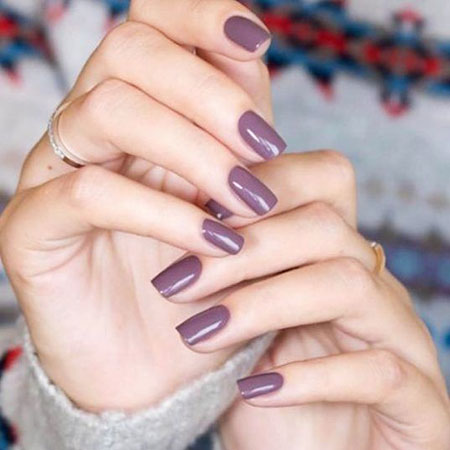 Purple Polish Manicure Best