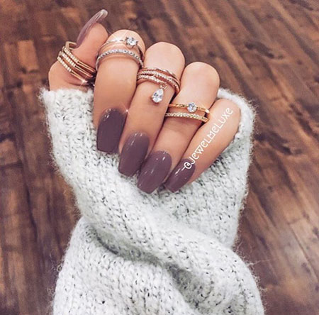 30 winter nail colors 2018  nail art designs 2018