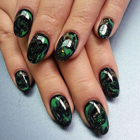 Green Black Gel Love