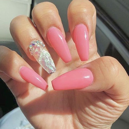 Ideas Natural Ongles Coffin