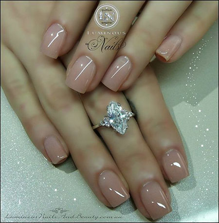 Acrylic French Manicure Nude