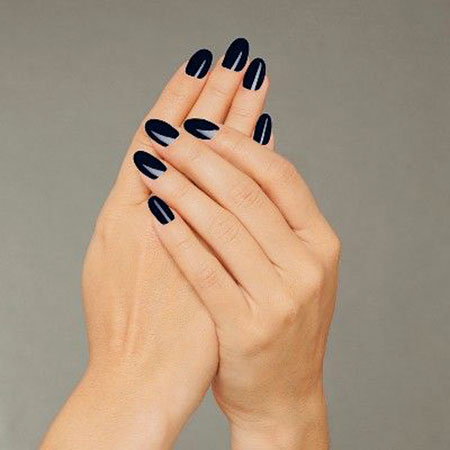 Polish Essie School Black