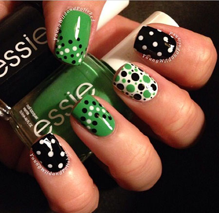 Dots Love Polka Green