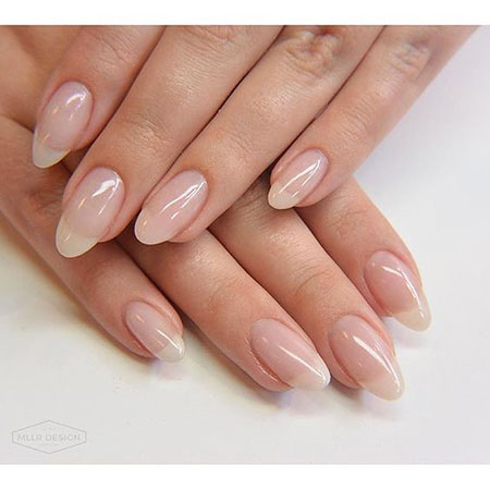 Manicure Oval Natural Acrylic