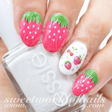 Water Decals Manicure Flower
