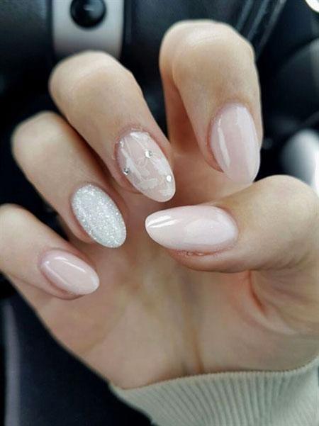 Manicure Almond Black Acrylic
