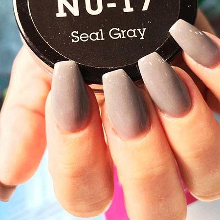 Grey Color Classic Elegant