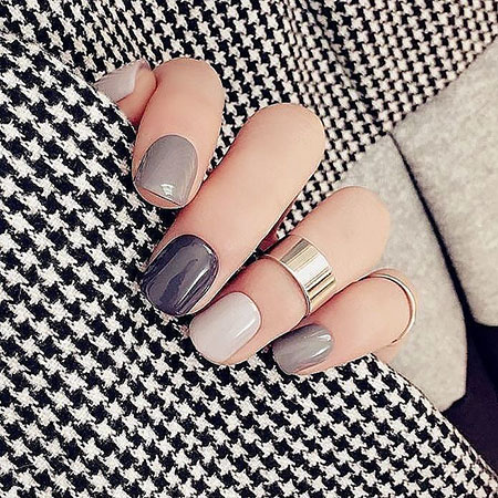Manicure Black Trendy