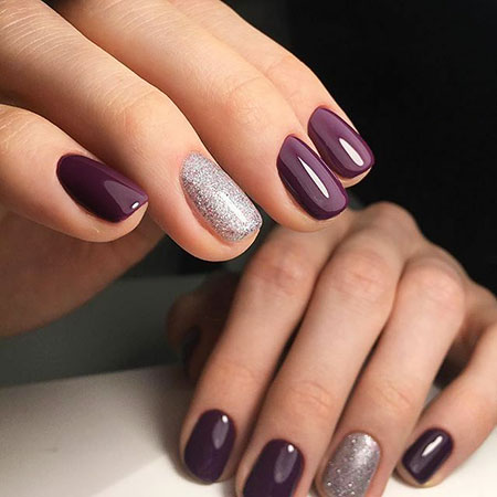 Dark Nude Nail Colors for Winter, Manicure Toes Colors January