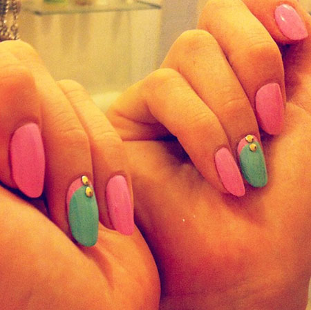 Manicure Cute Pretty Summer