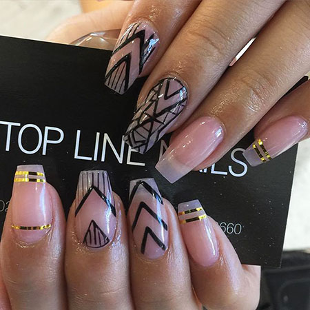 Coffin Ongles Manicure Toe