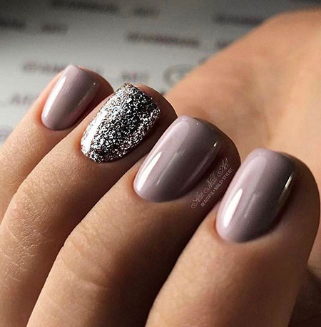 Cool Short Nail Color, Colors Manicure Love Winter