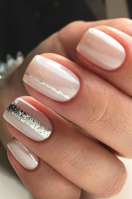 Simple Short Nails, Short Ideas Manicure Simple