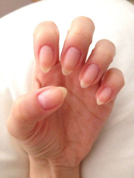 Easy Oval Shape Nails, Natural Stiletto Manicure Almond
