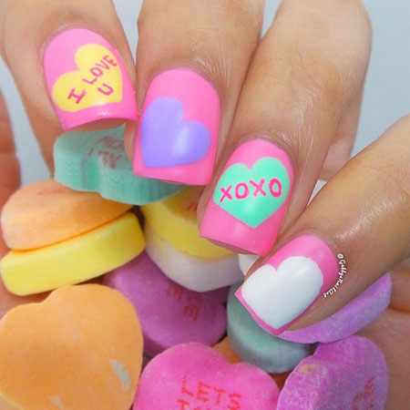 Cute Candy Colors, Day Valentines Candy Ideas
