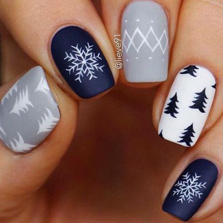 30 winter nail colors 2018  nail art designs 2018