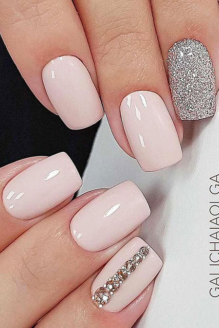 Wedding Elegant Manicure Ideas