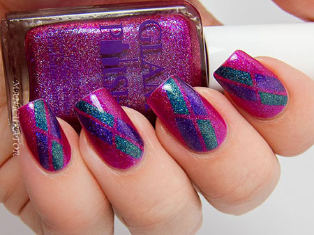 Polish Lacquer Tape Holographic