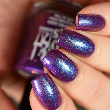 Polish Blue Purple January