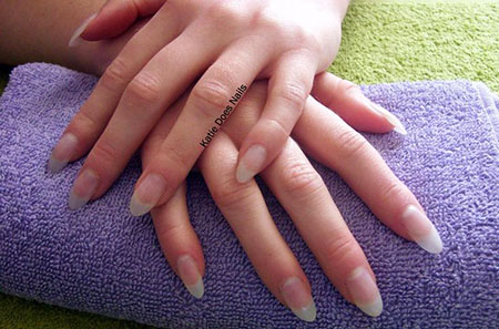 Almond Natural Oval Manicure