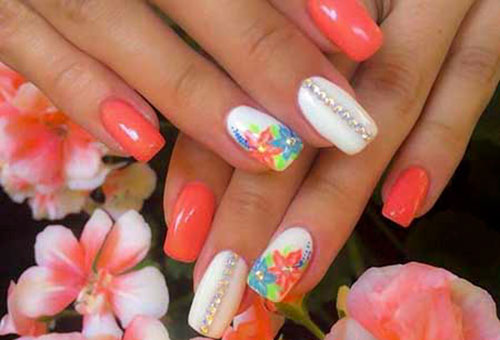 Pedi Flower Designs