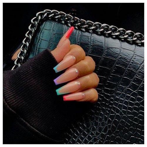 Trending Acrylic Nails 2019