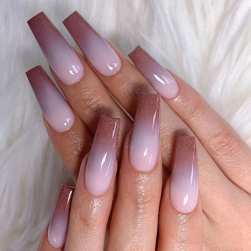 Ombre Fall Nails