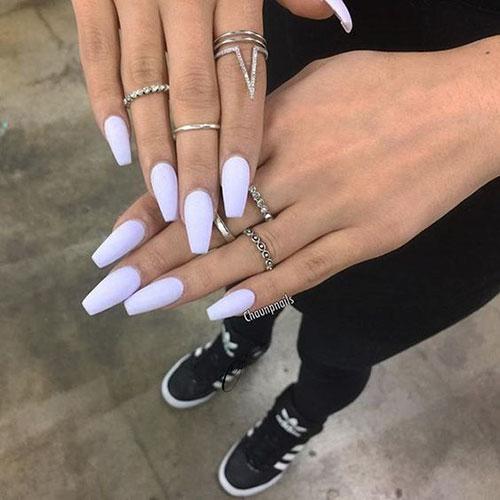 Trendy Acrylic Nails 2019