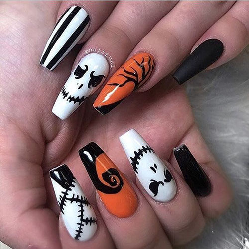 Acrylic Nails For Halloween