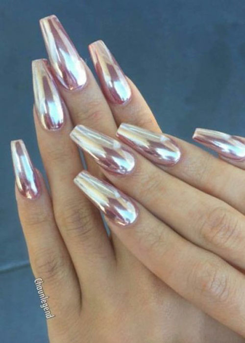 Pics Of Chrome Nails